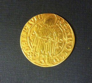 Voorzijde Clemmer gulden uit muntschat Trossenhuis L 2101-2102 (1)